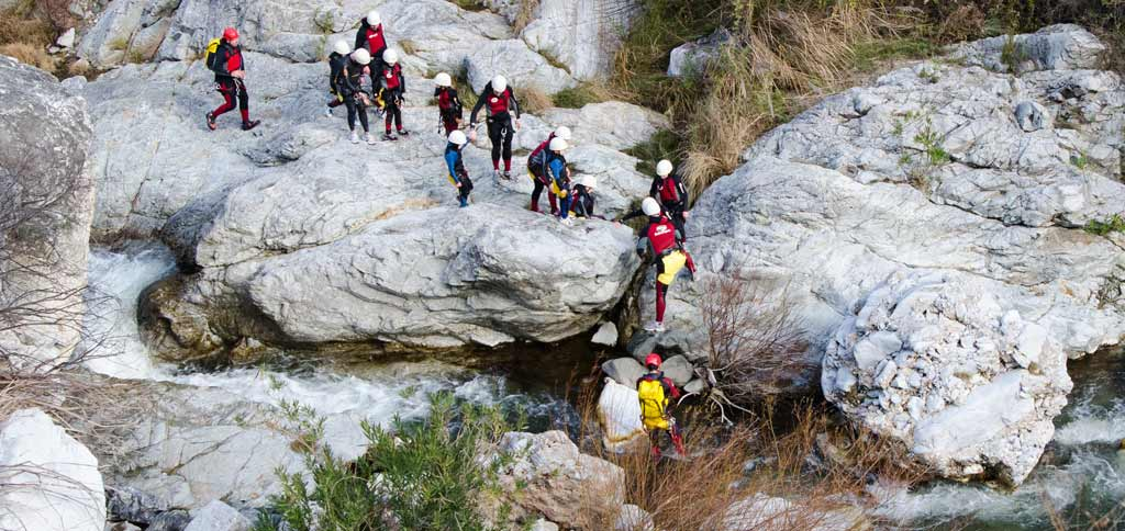 Canyoning walking in Benahavis, Costa del Sol