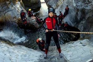 Canyoning in Benahavis with Escape 2 Marbella