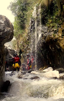 Stag Weekend Canyoning in Benahavis